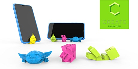 Online 3D-Workshop 01 – Handyhalter Tickets