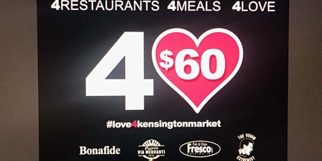 For the Love of Kensington-Week 3, Kensington Market restaurant fundraiser tickets