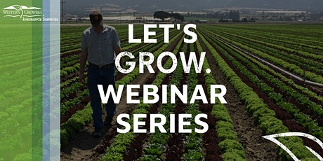 Let's Grow Webinar Series - Food Safety tickets