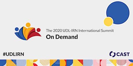 2020 UDL-IRN Summit On Demand tickets
