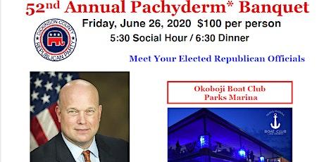 2020 Dickinson County Pachyderm Banquet~~Keynote Matt Whitaker tickets