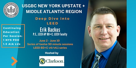 USGBC NY Upstate: Deep Dive into Green Building - LEED BD+C: Innovation/Regional Priority/LEED Online tickets
