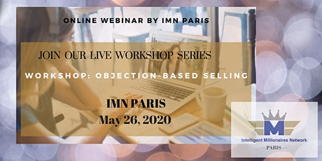 Live Webinar Training Series:  Objection-based selling tickets