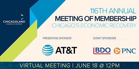 116th Annual Meeting of Membership: Chicago's Economic Recovery tickets