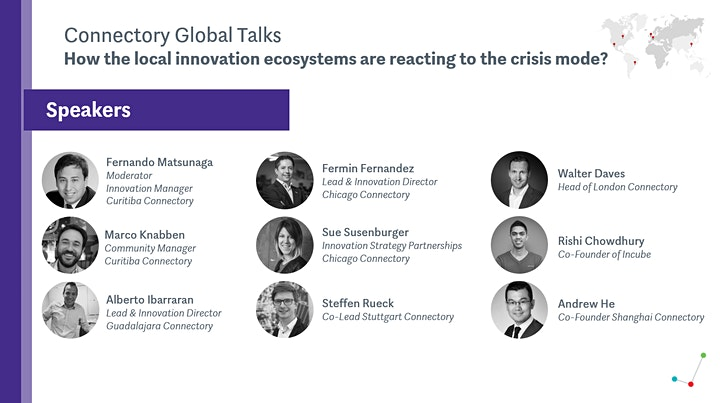 Connectory Global Talks: Local innovation ecosystems reacting to the crisis image
