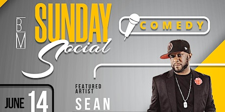 Sunday Social Live: Comedy tickets