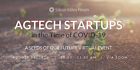 Agtech Startups in the Time of COVID-19 tickets