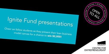 Ignite Fund presentations tickets