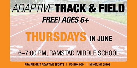 Adaptive Track and Field Practice tickets