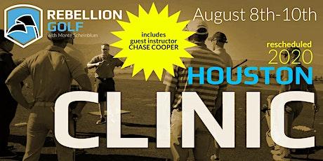 RESCHEDULED Rebellion Golf Clinic with Monte Scheinblum & Chase Cooper tickets