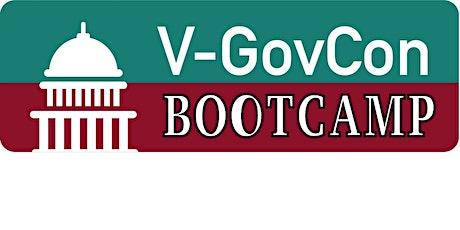 V-GovCon Virtual Boot-Camp - Fall 2020 Tickets