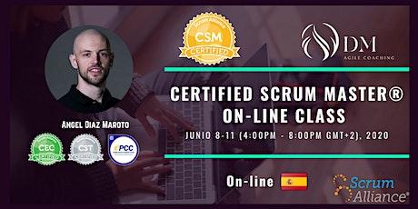 Certified Scrum Master® (CSM®) entradas