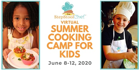 Virtual Kid Cooking Camp (Full Curriculum, Cooking Kits & Daily CookAlongs) tickets