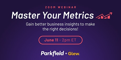 Master Your Metrics tickets