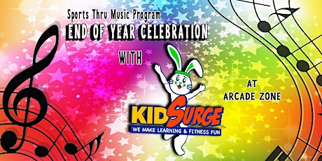 Sports End of Year Celebration with KID SURGE! tickets