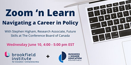 Zoom 'n Learn: Navigating a Career in Policy Tickets