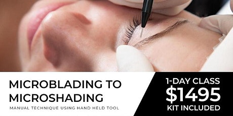 Chicago Microblading to Microshading Tour | August 16 ( One Day) tickets