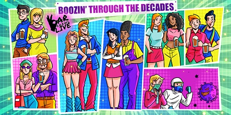 Boozin' Through The Decades Bar Crawl | Boston, MA - Bar Crawl Live tickets