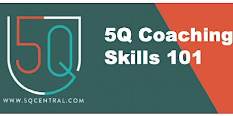 5Q Coaching Skills 101 3-session Coaching tickets