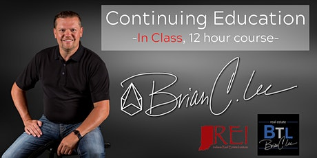 IN CLASS - Continuing Education Course tickets