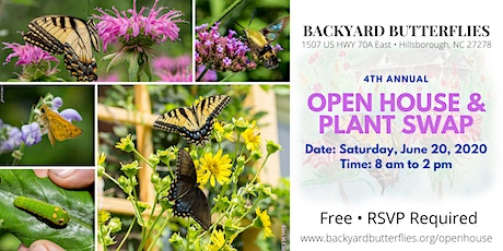 4th Annual Open House & Plant Swap tickets
