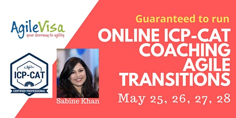 ICAgile Enterprise Agility ICP-CAT Coaching Agile Transitions (4 day bootcamp) tickets