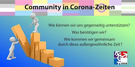 Community in Corona-Zeiten: ein Austausch zu Unterstützung und Gemeinschaft Tickets