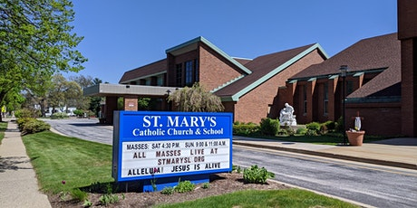 Saturday Evening Mass-St Mary, Spring Lake tickets