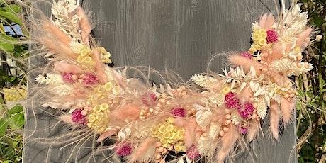 Kreativ Event- Dried Flowers Hoop Tickets