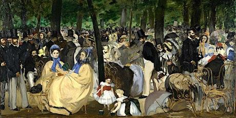 Curso on line La revolución Impresionista.  La pintura iluminada. entradas