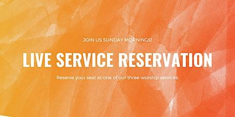 Sunday Morning Worship - 9:30 tickets