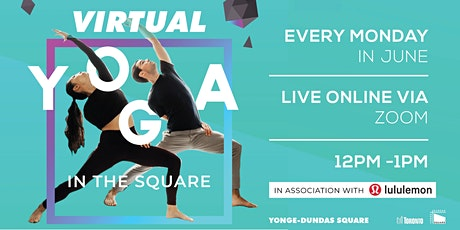 Virtual Yoga | Yonge-Dundas Square x lululemon 2020 tickets
