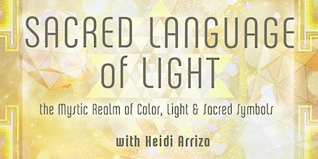 Sacred Language of Light : In-Store & FB LIVE tickets