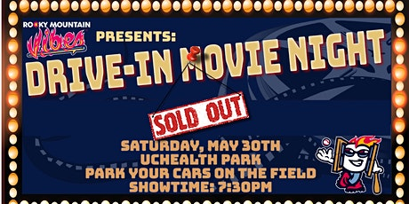 Drive-In Movie Night INSIDE the Ballpark! tickets