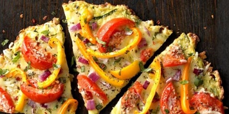 GF Zucchini Crust Pizza ONLINE through Larry's Market with Renee! tickets