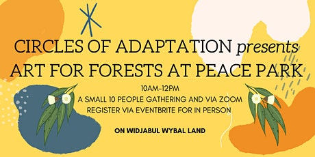 Art for Forests - Circles of Adaptation small gathering tickets