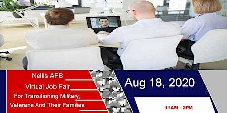 Nellis AFB Virtual Career Fair tickets