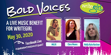 Bold Voices: A Live Music Benefit for WriteGirl tickets