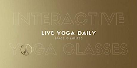 Shanti Hot Yoga Live Interactive Barre with Ola tickets