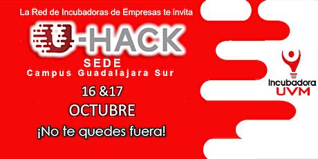 U-HACK 2020 sede Guadalajara Sur boletos