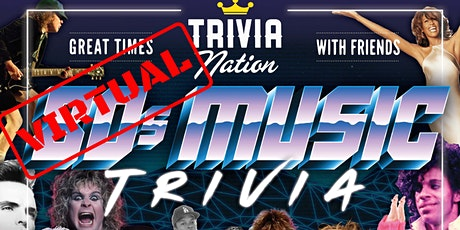Trivia Nation Virtual 80's Music Trivia! - $100s in Prizes!! tickets
