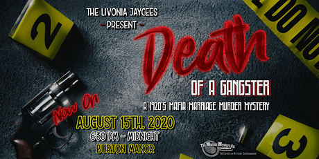 Death of a Gangster - A Mafia Murder Mystery Event tickets