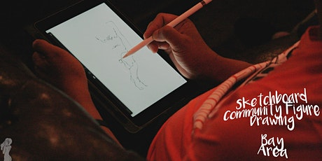 *REMOTE* Saturday Afternoon Figure Drawing with 2 Models & Live Music! tickets