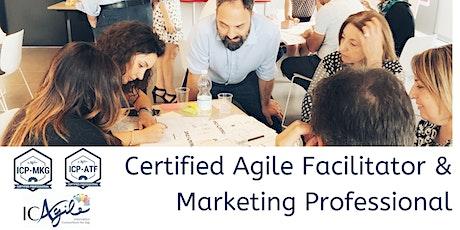 Certified Agile Facilitator & Marketing (ICP-ATF/ICP-MKG)(Jul '20) tickets