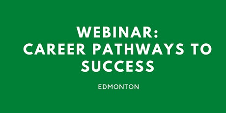 WEBINAR: Career pathways to success tickets