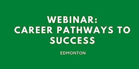 WEBINAR: Career pathways to success tickets