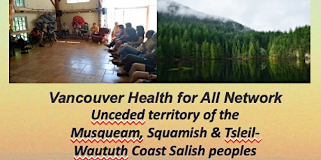 Launch of Van Health for All Network June 1 meeting tickets