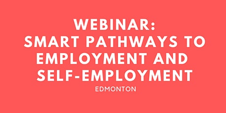 WEBINAR:  Smart pathways to employment and self-employment billets