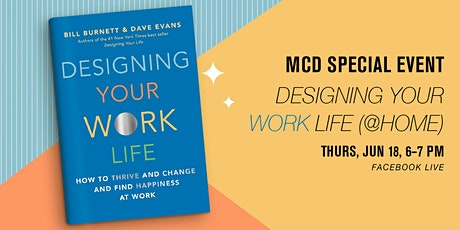 MCD Special Event: Designing Your Work Life (@Home) tickets