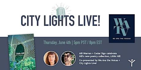 We Are the Voices & City Lights Live Present: Alli Warren + Cedar Sigo tickets